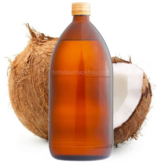 hinh anh dau dua coconut oil nguyen chat